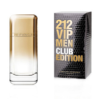 Туалетная вода Carolina Herrera 212 VIP CLUB Edition men